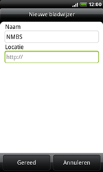 HTC A8181 Desire - Internet - internetten - Stap 10