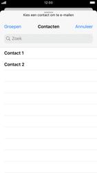 Apple iphone-7-met-ios-13-model-a1778 - E-mail - Hoe te versturen - Stap 5