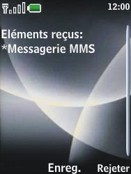 Nokia 3120 classic - MMS - Configuration automatique - Étape 4