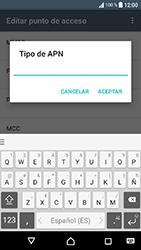 Sony Xperia XA1 - Mensajería - Configurar el equipo para mensajes multimedia - Paso 13