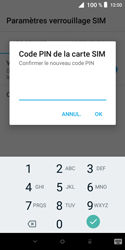 Alcatel 1X - Sécuriser votre mobile - Personnaliser le code PIN de votre carte SIM - Étape 9