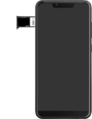 Wiko View 2 Plus - Toestel - simkaart plaatsen - Stap 7