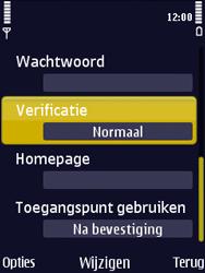Nokia N86 - Internet - Handmatig instellen - Stap 17