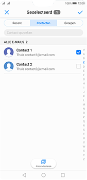 Huawei P20 Pro Dual-SIM (Model CLT-L29) - E-mail - Bericht met attachment versturen - Stap 6