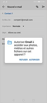 Huawei P30 - E-mail - envoyer un e-mail - Étape 11