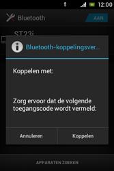 Sony ST23i Xperia Miro - Bluetooth - koppelen met ander apparaat - Stap 9