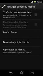 Sony C1905 Xperia M - Internet - configuration manuelle - Étape 7