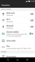 HTC Desire 610 - Internet et connexion - Accéder au réseau Wi-Fi - Étape 4