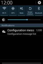 Samsung S6810P Galaxy Fame - Internet - Automatic configuration - Step 4