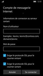 Acer Liquid M330 - E-mail - Configuration manuelle - Étape 20
