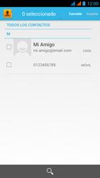 Wiko Stairway - Mensajería - Escribir y enviar un mensaje multimedia - Paso 7