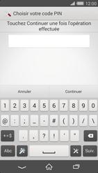 Sony Xperia Z2 - Sécuriser votre mobile - Activer le code de verrouillage - Étape 8