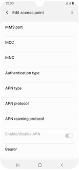 Samsung Galaxy A40 - MMS - Manual configuration - Step 14