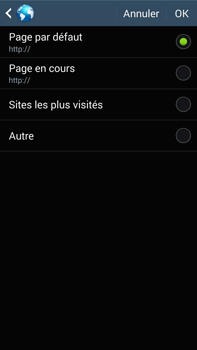 Samsung N9005 Galaxy Note III LTE - Internet - configuration manuelle - Étape 24
