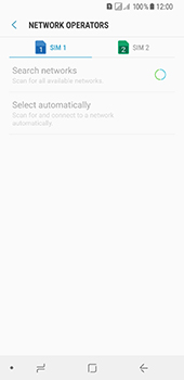 Samsung Galaxy A8 (2018) - Network - Manually select a network - Step 9