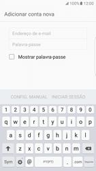 Samsung Galaxy S7 Edge - Email - Adicionar conta de email -  6