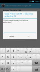 Bouygues Telecom Bs 471 - Sécuriser votre mobile - Personnaliser le code PIN de votre carte SIM - Étape 7