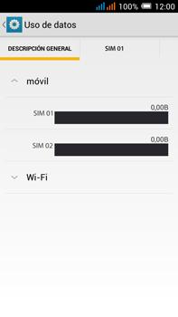 Alcatel Pop C9 - Internet - Activar o desactivar la conexión de datos - Paso 5