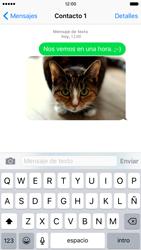 Apple iPhone 6s iOS 9 - Mensajería - Escribir y enviar un mensaje multimedia - Paso 14