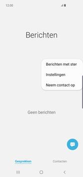 Samsung Galaxy S10 Plus - Berichten - handmatig instellen - Stap 6