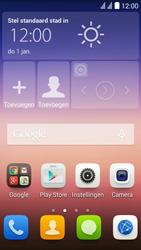 Huawei Y625 - SMS - handmatig instellen - Stap 1