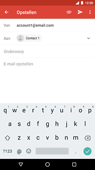 Nokia 6 (2018) - e-mail - hoe te versturen - stap 7