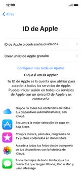 Apple iPhone X - Primeros pasos - Activar el equipo - Paso 17