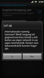 Sony ST25i Xperia U - Internet - Internet gebruiken in het buitenland - Stap 10