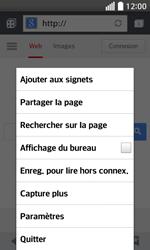 LG F70 - Internet et connexion - Naviguer sur internet - Étape 16