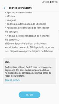 Samsung Galaxy S7 Edge - Android Oreo - Repor definições - Como repor definições de fábrica do telemóvel -  8