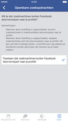 Apple iPhone 6 met iOS 9 (Model A1586) - Privacy - Privacy instellingen van Facebook aanpassen - Stap 31