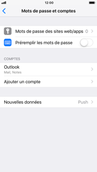 Apple iPhone 8 - iOS 12 - E-mail - Configuration manuelle (outlook) - Étape 10