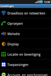 Samsung S5660 Galaxy Gio - Netwerk - gebruik in het buitenland - Stap 6