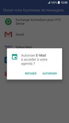 HTC 10 - E-mail - Configurer l