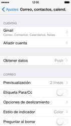 Apple iPhone 6 iOS 8 - E-mail - Configurar Gmail - Paso 10