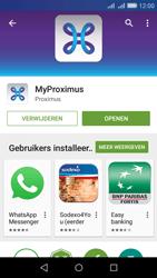Huawei Y6 - Applicaties - MyProximus - Stap 9