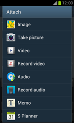 Samsung S7560 Galaxy Trend - Mms - Sending a picture message - Step 13