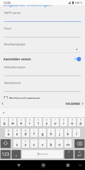 Sony Xperia XZ3 - E-mail - e-mail instellen: IMAP (aanbevolen) - Stap 19