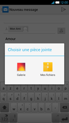 Bouygues Telecom Ultym 4 - E-mails - Envoyer un e-mail - Étape 12