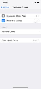 Apple iPhone iOS 12 - Email - Como configurar seu celular para receber e enviar e-mails - Etapa 4