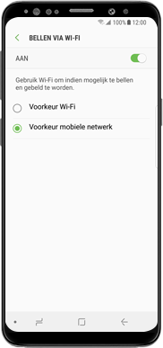 Samsung Galaxy J7 (2017) - Bellen - bellen via wifi (VoWifi) - Stap 8