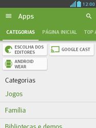 LG E430 Optimus L3 II - Aplicativos - Como baixar aplicativos - Etapa 6