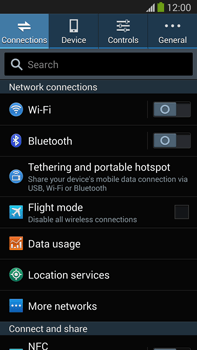 Samsung N9005 Galaxy Note III LTE - Network - Usage across the border - Step 4