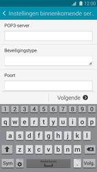 Samsung G900F Galaxy S5 - E-mail - Handmatig instellen - Stap 10