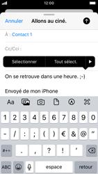 Apple iPhone SE - iOS 13 - E-mail - envoyer un e-mail - Étape 8