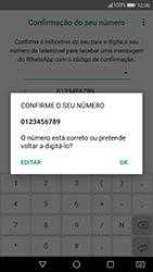 Huawei P10 Lite - Aplicações - Como configurar o WhatsApp -  10