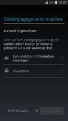 Samsung I9195i Galaxy S4 mini VE - Applicaties - Account aanmaken - Stap 16