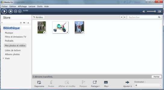 Sony Xperia XZ1 - Photos, vidéos, musique - Récupérer vos contenus multimédias avec un ordinateur - Étape 11
