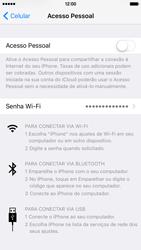 Apple iPhone iOS 9 - Wi-Fi - Como usar seu aparelho como um roteador de rede wi-fi - Etapa 5