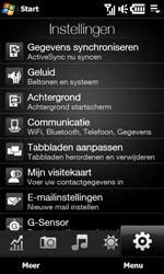 HTC T7373 Touch Pro II - Instellingen - Instellingen wizard - Stap 4